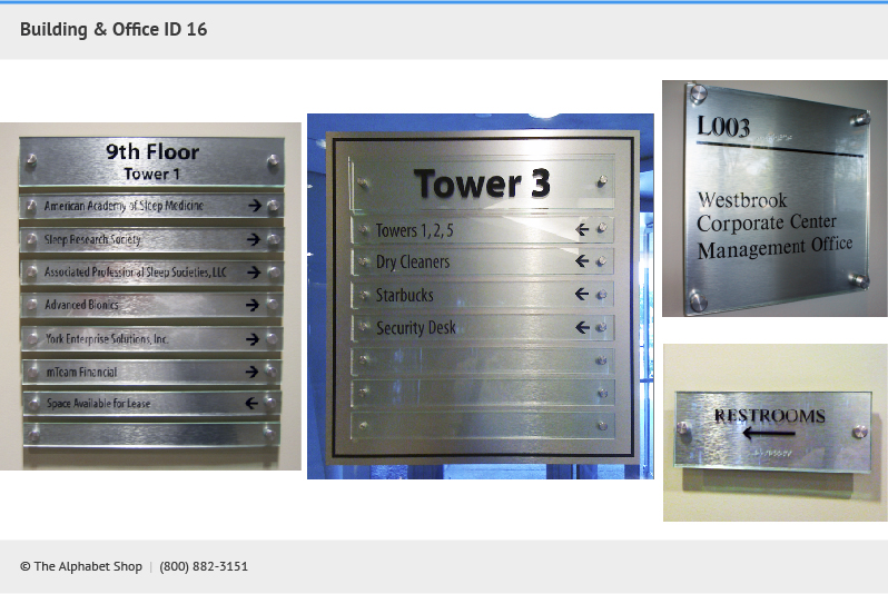 Building Signs Office Id Signs Lobby Sign